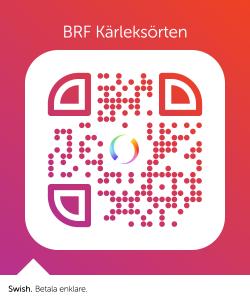 QR kod som kan skannas med swish-appen i din mobil.